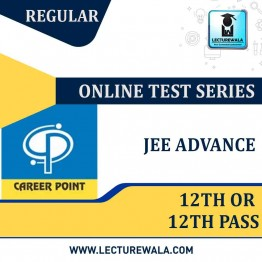 All India Test Series For JEE Advanced 2020 (For 12th or 12th Pass) | By Career Point