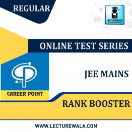 JEE Main Rank Booster With Online Test Series | By Career Point