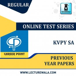 KVPY SA Previous Year Papers Online Test Series | By Career Point