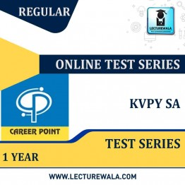 KVPY SA Online Test Series for 1 Year | By Career Point