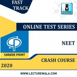 Crash Course Online Test Series NEET 2020 | By Career Point