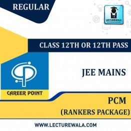 Rankers Package For JEE Main 2020 (For 12th or 12th Pass) | By Career Point