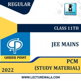 Study Material Package For JEE Main 2022 (For 11th Class) | By Career Point