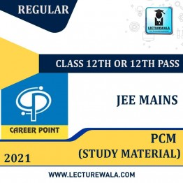 Study Material Package For JEE Main 2021 (For 12th or 12th Pass) | By Career Point