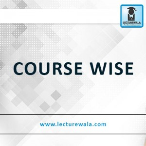 COURSE WISE