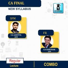 CA Final SFM and FR Regular Course Combo New Syllabus : Video Lecture + Study Material By CA Aaditya Jain and CA Sarthak Jain (For May 2021 & Nov. 2021)