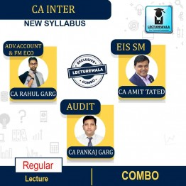 CA Inter Group-2 All Subject Combo Regular Course: Video Lectures + Study Materials by CA Rahul Garg, CA Pankaj Garg (For Nov. 21 & May 22)