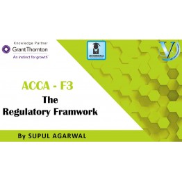 ACCA Knowledge Level F3-Financial Accounting (FA) : Video Lecture By Mr. Supul Agarwal