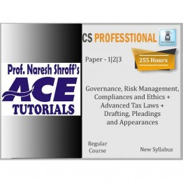 CS Professional (Paper 1,2,3) Combo Regular Course : Only Video Lectures By Ace Tutorial (For Dec. 2021)