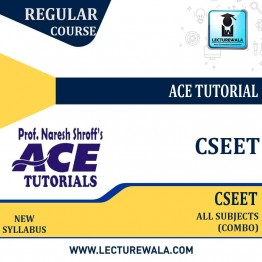 CS Foundation All Subject (CSEET) Combo Regular Course : Video Lecture + E-Book By Ace Tutorial (For JULY 2021 & NOV.2021)