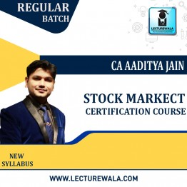 Stock Market Certification Course : Video Lecture + E-Book BY CA Aaditya Jain