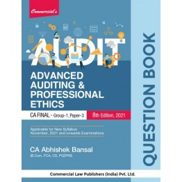 CA Final Audit Question Book : Study Material By CA Abhishek Bansal  (For Nov. 2021 and Onwards)