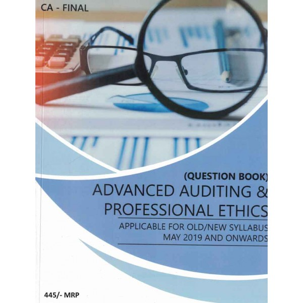 CA Final Audit Question Book Only : Study Material by CA Abhishek Bansal (For May 2020)