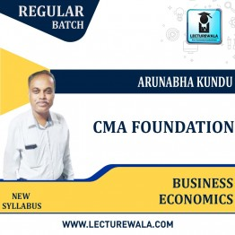 CMA Foundation Business Economics Regular: Video Lecture + Study Material By Arunabha Kundu (For DEC 2021)
