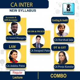 CA Inter Both Group Combo Full Course : Video Lecture + Study Material By SPC (For NOV. 2021 / MAY 2022 )