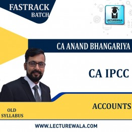 CA Ipcc Accounts Revision Course : Video Lecture + Study Material By CA Anand Bhangariya (For Nov .2021)