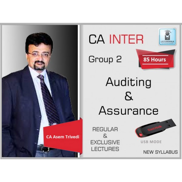 CA INTER AUDIT & ASSURANCE BY CA ASEEM TRIVEDI (FOR MAY & NOV. 2019)