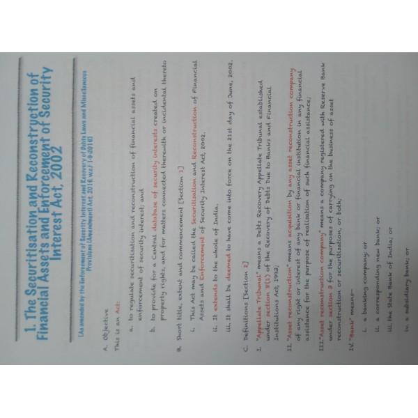 CA Final Law Old & New Syllabus 6th Latest Edition :  By CA Abhishek Bansal (For May 2020 & Nov. 2020)