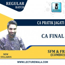 CA Final Combo FR + SFM Regular Course : Video Lecture + Study Material By CA Pratik Jagati (For Nov. 2021 to May 2023)