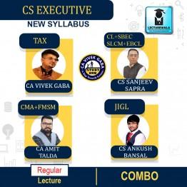 CS Executive Both Module (1+2) Combo Regular Course : Video Lecture + Study Material By CA Vivek Gaba, CS Sanjeev Sapra, CA Amit Talda & CS Ankush Bansal (For Dec. 2021 / June 2022)