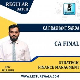 CA Final Strategic Financial Managment (SFM) Regular Course : Video Lecture + Study Material By CA Prashant Sarda (For Nov. 2021 & May 2022)