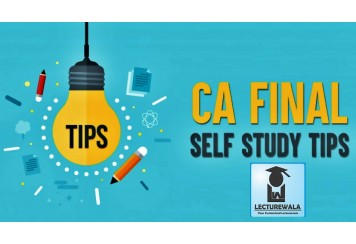Tips to succeed in CA finals with one month revision