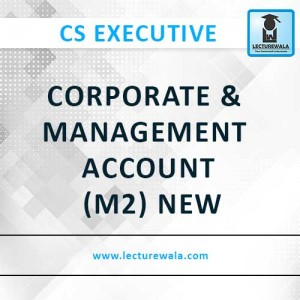 Corporate & Management Account (M2) New