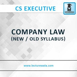 Company Law (New/Old) (M1) (9)