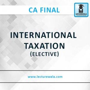 INTERNATIONAL TAXATION (3)