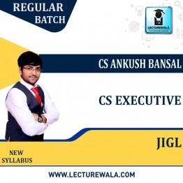 CS Executive  Jurisprudence, Interpretation & General Laws Regular Course : Video Lecture + Study Material By CS Ankush Bansal (For Dec. 2021 & June 2022)