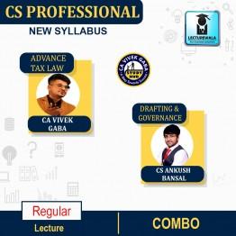 CS Professional Combo (ATL + DPA + GRMCE) Regular Course : Video Lecture + Study Material By CA Vivek Gaba & CS Ankush Bansal (For Dec. 2021)
