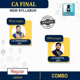 CA Final Financial Reporting (FR) + Strategic Financial Management (SFM) In English New Recording Full Course : Video Lecture + Study Material By CA Chiranjeev Jain And CA Aaditya Jain (For May 2022 - NOV 2022)