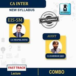 CA Inter EIS-SM & Audit Fast Track Course Combo : Video Lecture + Study Material By CA Swapnil Patni & CA Harshad Jaju (For Nov. 2021 & May 2022)