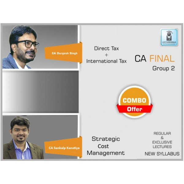 CA FINAL DT BY CA DURGESH SINGH & SCMPE CA SANKALP KANSTIYA (MAY 2019 & ONWARDS)