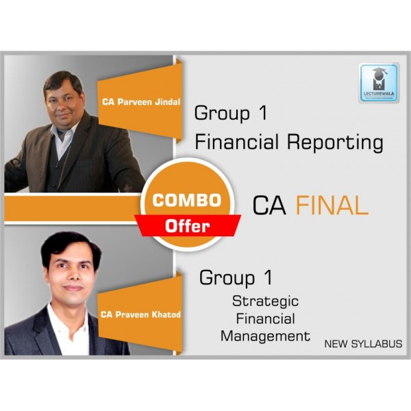 CA FINAL NEW SYLLABUS : FR BY CA PARVEEN JINDAL & SFM BY PRAVEEN KHATOD  REGULAR LECTURES