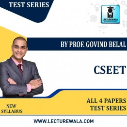 CSEET All 4 Papers Test Series By Prof Govind Belal (For May 2021 onwards)