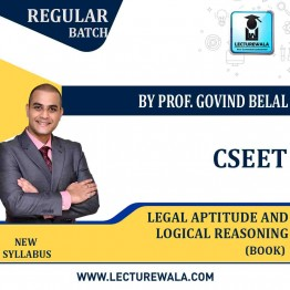 CSEET Legal Aptitude and Logical Reasoning Book ; By Prof. Govind Belal Sir