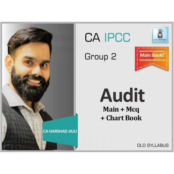 CA Ipcc Audit Full Set : Study Material By CA Harshad Jaju (For May 2020 & Onwards)