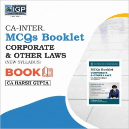 CA Inter Law [MCQ Booklet]: Study Material By CA Harsh Gupta (For Nov. 2021)