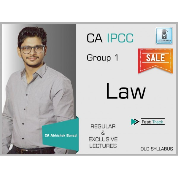 CA Ipcc Company Law Fast Track : Video Lecture +  Study Material by CA Abhishek Bansal (For Nov. 2019 & Onwards)