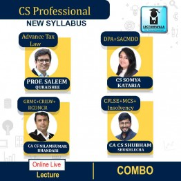 CS Professional MODULE - 1 + MODULE - 2 + MODULE - 3 (COMBO) Online Live Batch New Syllabus : Video Lecture + Study Material by Inspire Academy (For June-21, Dec-21)