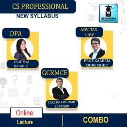 CS Professional MODULE - 1 Combo -  (DPA + ATL + GCRMCE ) Online Live Batch New Syllabus : Video Lecture + Study Material by Inspire Academy (For June-21, Dec-21)