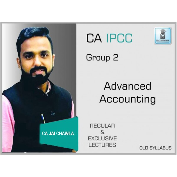 CA IPCC ADVANCE ACCOUNTING BY CA JAI CHAWLA (FOR MAY 2019)