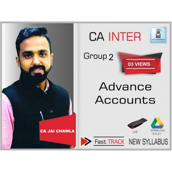 CA Inter Advance Accounts Crash Course - By CA Jai Chawla For May & Nov. 2019