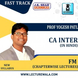 CA Inter Financial Management Fast Track in Hindi Chapterwise Lectures : New Syllabus by JK Shah Classes Prof Yogesh Patil  (For May 2021 & Nov.2021)