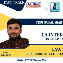 CA Inter Corporate and Other Laws Fast Track In English Chaptrwise Lectures : New Syllabus by JK Shah Classes Prof Kunal Shah (For May 2021 & Nov.2021)