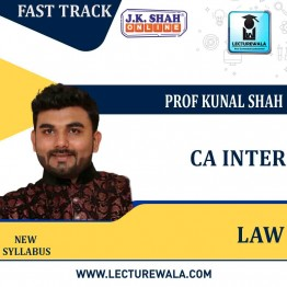 CA Inter Corporate and Other Laws Fast Track In English : New Syllabus by JK Shah Classes Prof Kunal Shah (For May 2021 & Nov.2021)