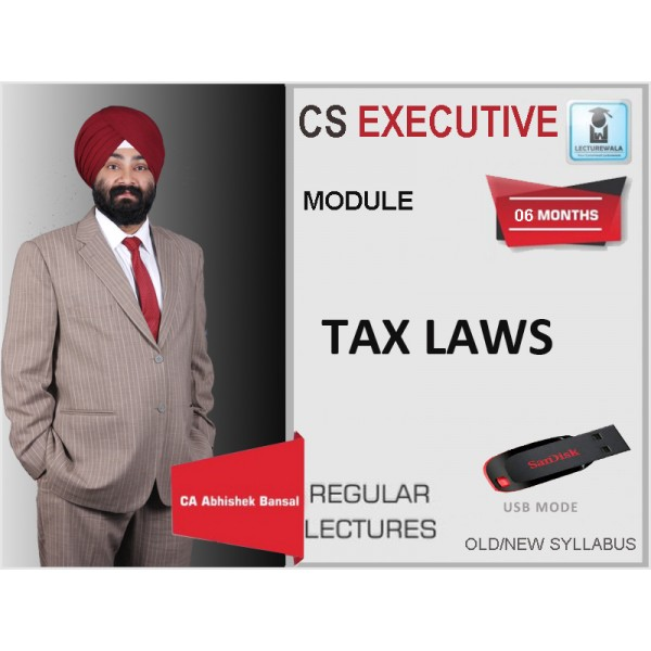 CS EXECUTIVE TAX LAWS (FULL) BY CA JASSPRIT S. JOHAR