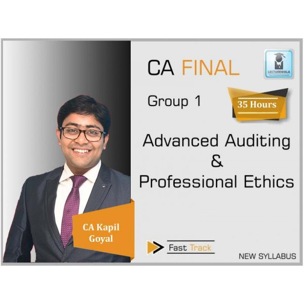 CA Final Special Audit New & Old Syllabus Crash Course by CA Kapil Goyal (For May 2020)