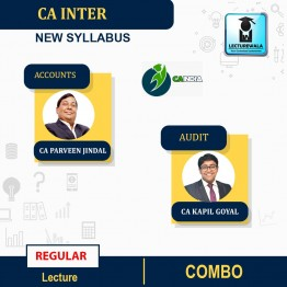 CA Inter Audit & Accounts New Syllabus Regular Course : Video Lecture + Study Material by CA Kapil Goyal And CA Parveen Jindal (For Nov.2021 & May 2022)